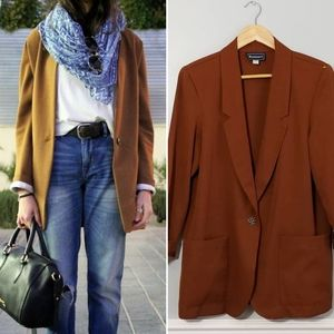 Requirements vintage rust boyfriend blazer
